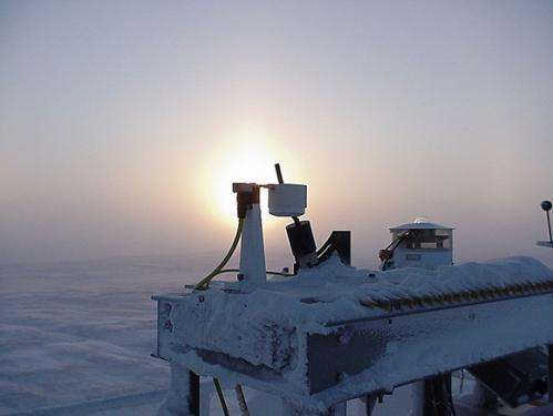 Scientists improve detection of Arctic clouds