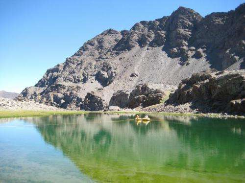 Scientists obtain new data on the weather 10,000 years ago from sediments of a lake in Sierra Nevada