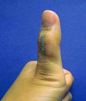 Silver nanowire sensors hold promise for prosthetics, robotics
