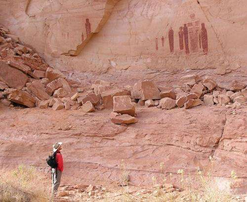 Southern Utah's Barrier Canyon-style Rock Art Younger than Expected