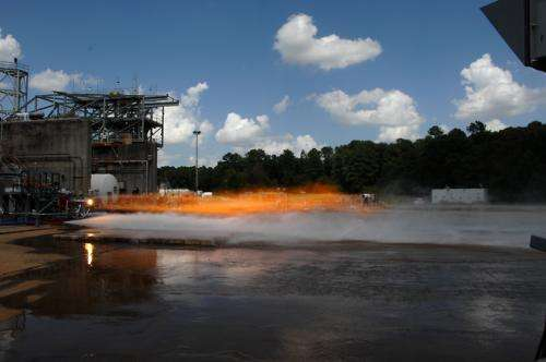 Sparks fly as NASA pushes the limits of 3-D printing technology