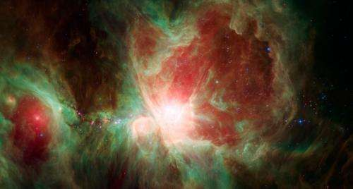 Spitzer's Orion