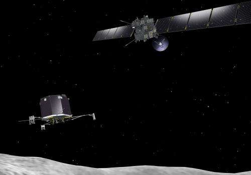 'Standing on a comet': Rosetta mission will contribute to space weather research