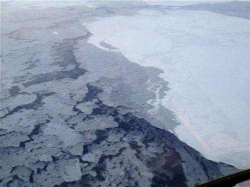 Study: Arctic getting darker, making Earth warmer