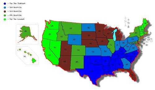 Study explains U.S. cultural regionalism beyond politics