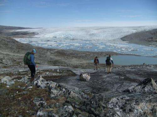 Study links Greenland ice sheet collapse, sea level rise 400,000 years ago