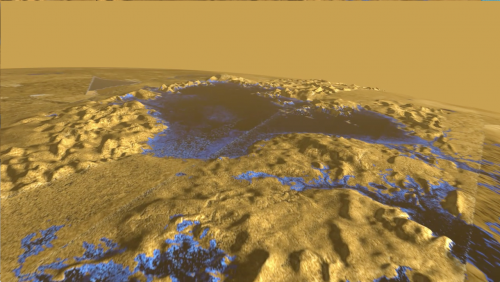 Surface of Titan Sea is mirror smooth, Stanford scientists find
