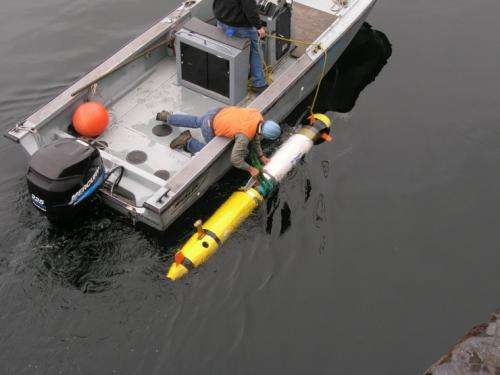 Synthetic aperture sonar to help Navy hunt sea mines