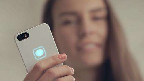 Team uses unused iPhone energy for case lights