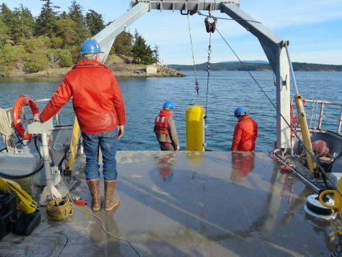 Tethered robots tested for Internet-connected ocean observatory
