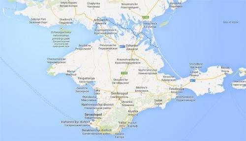 The mapmaker's dilemma: How do you solve a problem like Crimea?