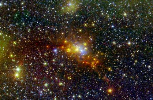 The 'Serpent' star-forming cloud hatches new stars