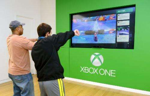 The Xbox One Gaming Tournament at Bridgewater Commons Mall on November 23, 2013 in Bridgewater, New Jersey