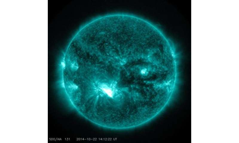 Third substantial solar flare in 2 days