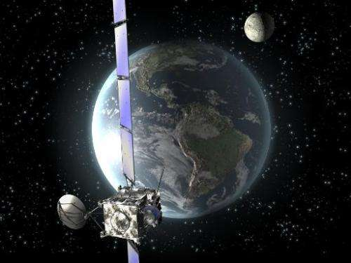 This handout picture from the European Space Agency (ESA) retrieved on September 3, 2008 shows an artist's rendition of ESA's pr