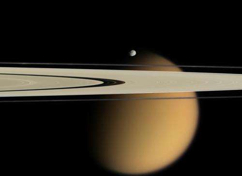 Titan Offers Clues to Atmospheres of Hazy Planets
