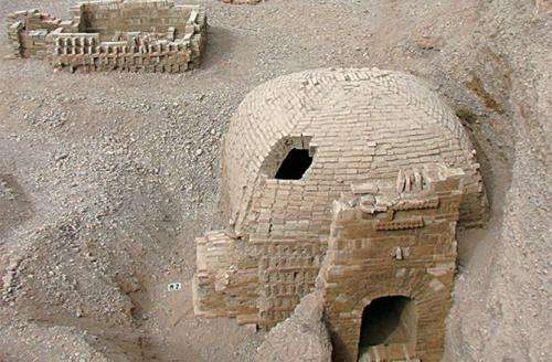 Tombs with mythical carvings found in Chinese city that was once along the Silk Road