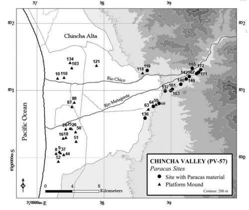 Field study suggests geoglyphs in ancient Peru were made to lead travelers to trade fairs