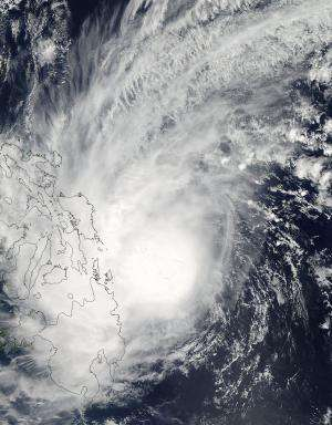 Tropical Storm Kajiki fades over South China Sea