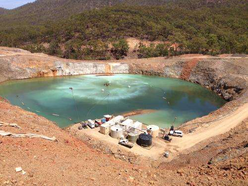 Turning mining wastewater into rainwater