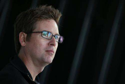Twitter co-founder Biz Stone is pictured on September 24, 2012 in San Francisco, California