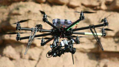 Unmanned flying drones to help identify oil reserves