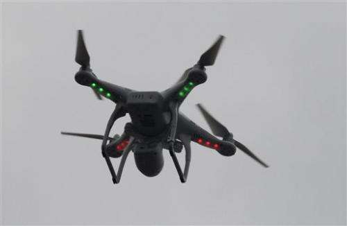 US lags as commercial drones take off around globe