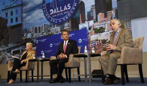 US mayors to vote on climate change resolution