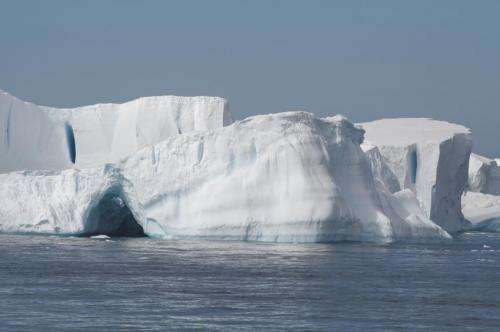 Antarctic seawater temperatures rising