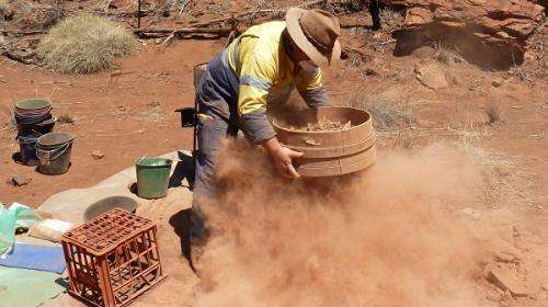 Wet-sieving uncovers additional human relics