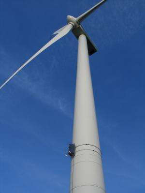 Wind farms to blink only when necessary