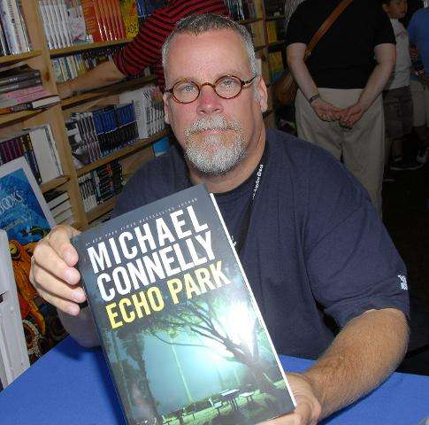 Writer Michael Connelly poses at the 12th Annual L.A. Times Festival of Books on the U.C.L.A. campus on April 29, 2007 in Los An