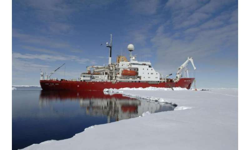 As polar ice melts, seabed life is working against climate change