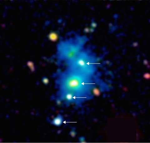 Astronomers Baffled by Discovery of Rare Quasar Quartet