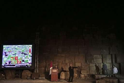 Egypt detects 'impressive' anomaly in Giza pyramids