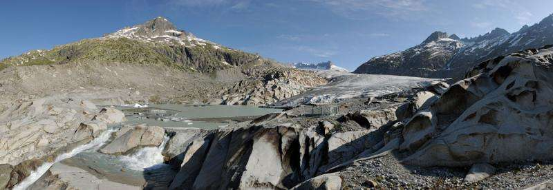 Glaciers melt faster than ever