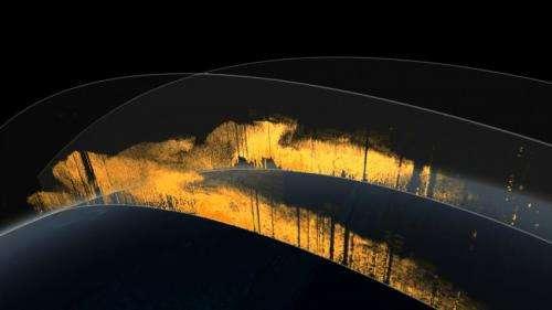 Massive amounts of Saharan dust fertilize the Amazon rainforest