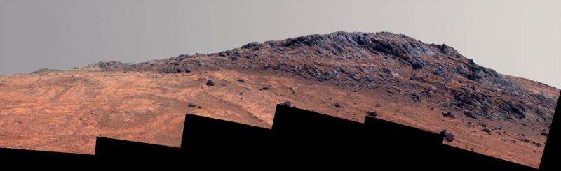 Opportunity Mars rover preparing for active winter