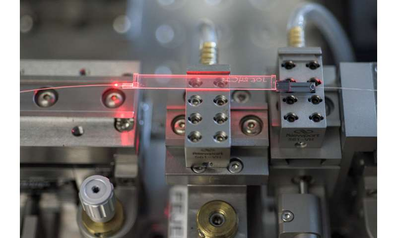 Physicists use photons to carry messages from electrons 1.2 miles apart