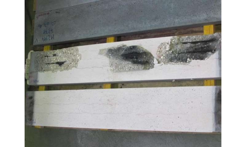 Self-compacting high-performance concrete now fire resistant as well