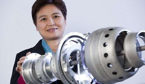 The world's first printed jet engine