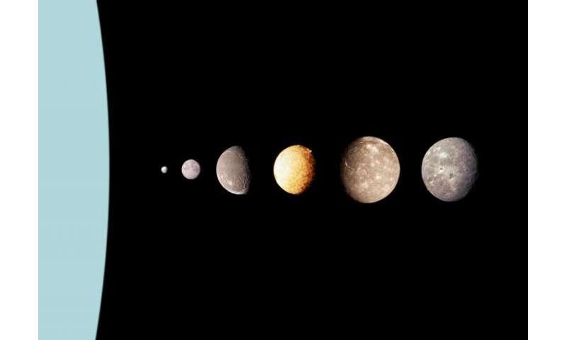 "Uranus' ""sprightly"" moon Ariel"