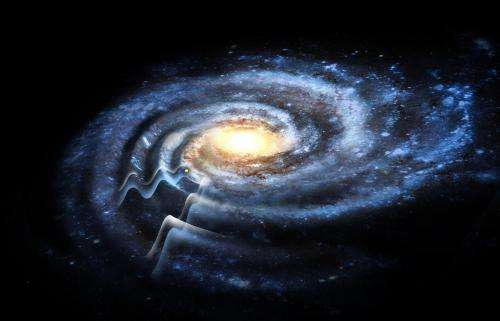 The corrugated galaxy -- Milky Way may be much larger than previously estimated