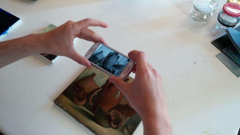 Uncovering the real history of art using a graphene scanner