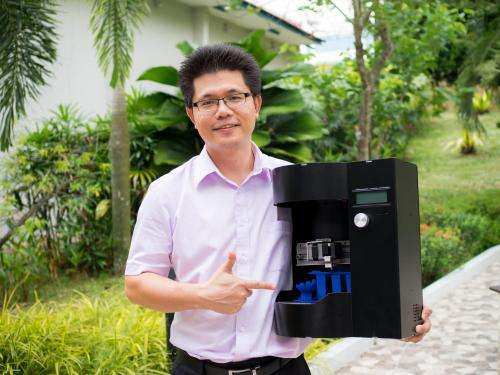 World's first rotary 3-D printer-cum-scanner unveiled at AAAS by NTU Singapore start-up