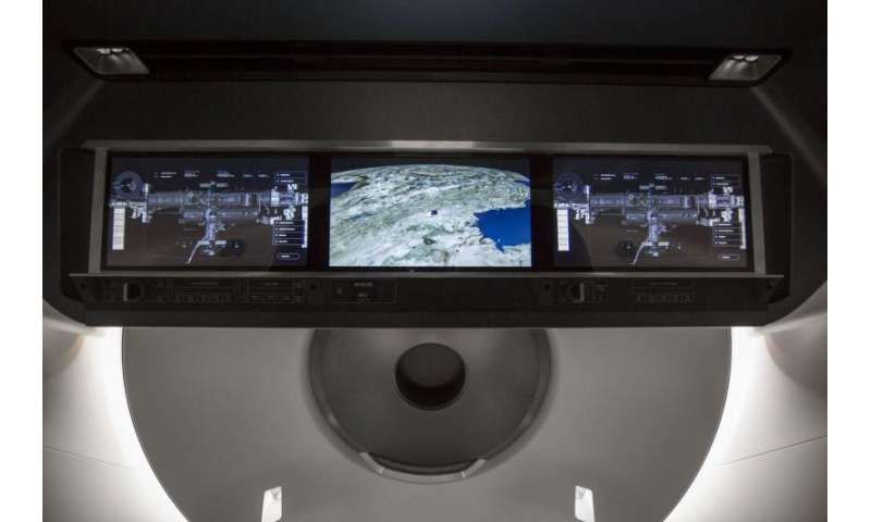 SpaceX provides a peek inside their new crew vehicle