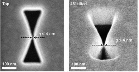 3D plasmonic antenna capable of focusing light into few nanometers