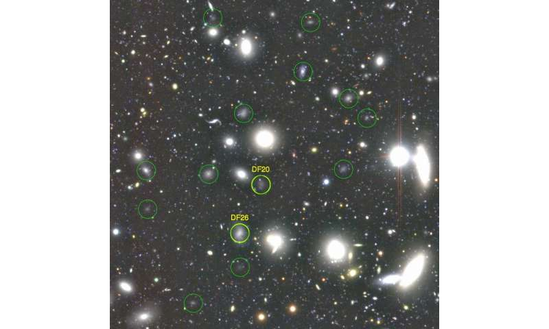 Astronomers discover more than 800 dark galaxies in the famous Coma Cluster