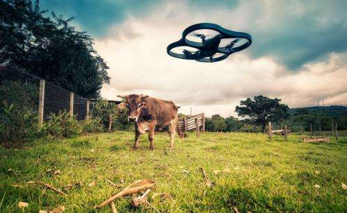 Farmers of the future will utilize drones, robots and GPS