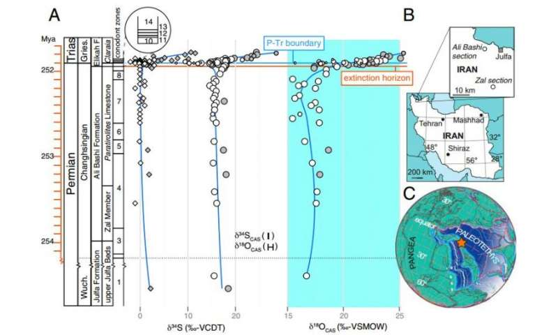 End-Permian mass extinction may have been driven by an ocean teeming with life